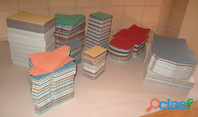 Venda de Papéis artesanais com fibras vegetais. Grande quantidade. 3