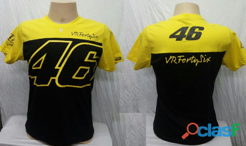 AA   Camisetas Moto Velocidade Valentino Rossi, VR46, The Doctor, The Donkey, BMW, Monster