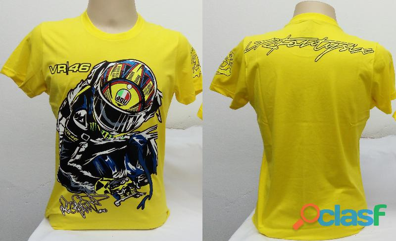 AA   Camisetas Moto Velocidade Valentino Rossi, VR46, The Doctor, The Donkey, BMW, Monster 3
