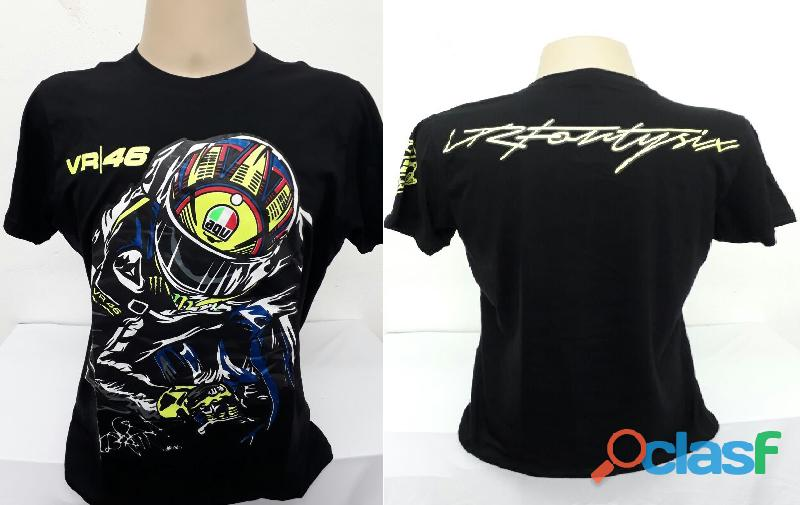 AA   Camisetas Moto Velocidade Valentino Rossi, VR46, The Doctor, The Donkey, BMW, Monster 1