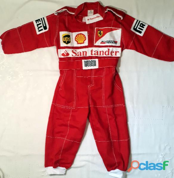 Macacão Infantil Corrida Unissex Ferrari, Renault, Repsol, RedBull, Harley 13
