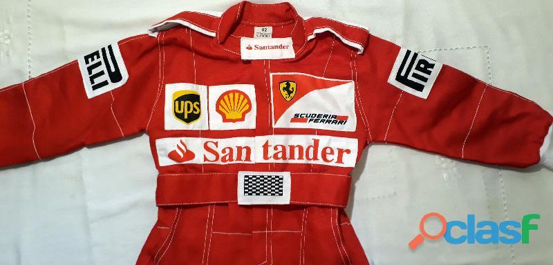 Macacão Infantil Corrida Unissex Ferrari, Renault, Repsol, RedBull, Harley 10