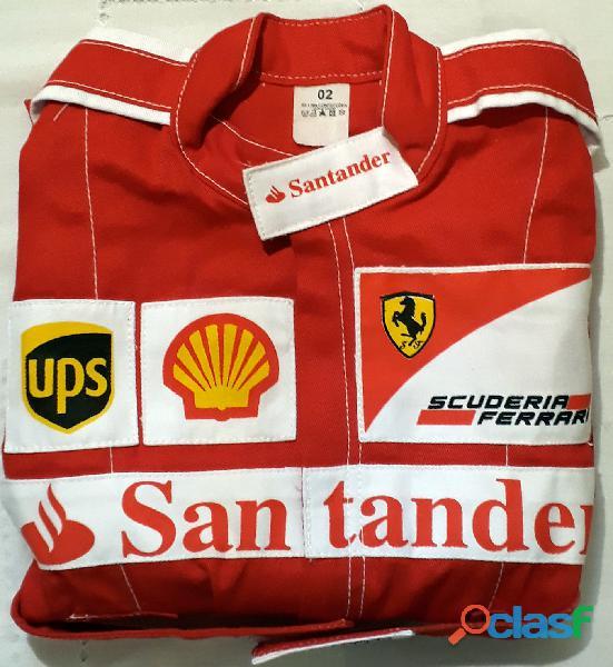 Macacão Infantil Corrida Unissex Ferrari, Renault, Repsol, RedBull, Harley 9