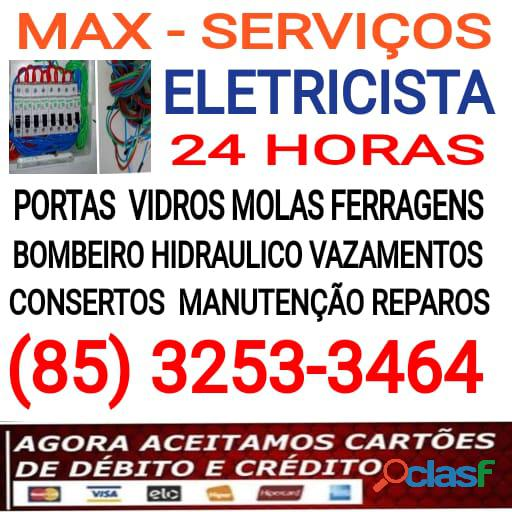 Max   eletricista 24hs (85) 3253 3464
