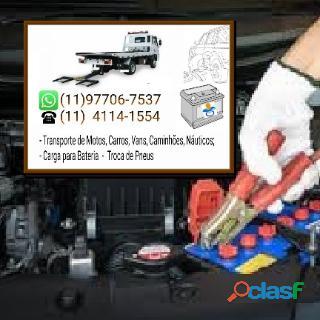 Guincho aclimação 011977067537 ou 011 41141554 carga em bateria