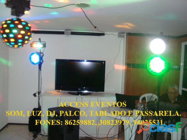 Som, Luz, dj, Palco, Tablado,Tenda, Passarela, Som Pra Banda, tablado de vidro. Ligue 9 8625 9882. 3