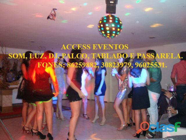 Som, Luz, dj, Palco, Tablado,Tenda, Passarela, Som Pra Banda, tablado de vidro. Ligue 9 8625 9882. 2