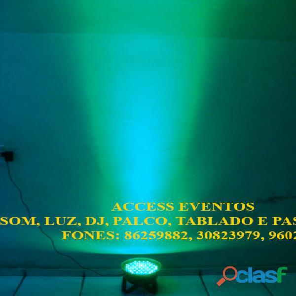 Som, Luz, dj, Palco, Tablado,Tenda, Passarela, Som Pra Banda, tablado de vidro. Ligue 9 8625 9882. 1