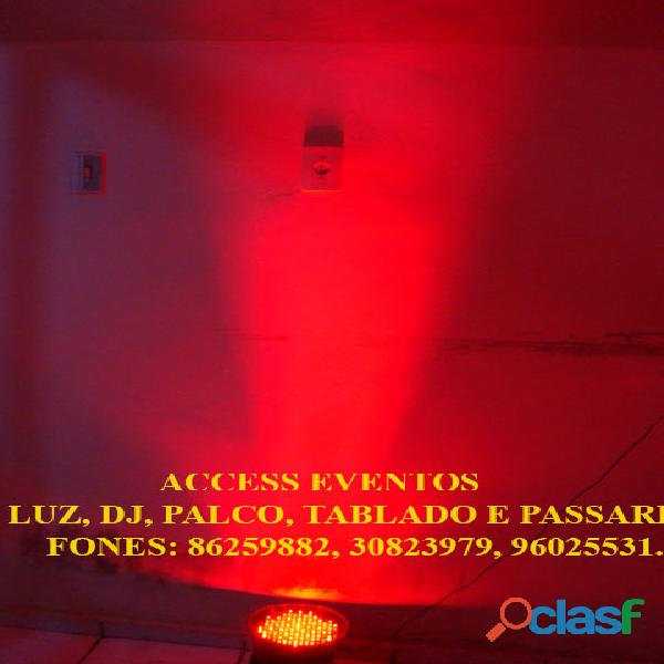 Som, Luz, dj, Palco, Tablado,Tenda, Passarela, Som Pra Banda, tablado de vidro. Ligue 9 8625 9882. 13