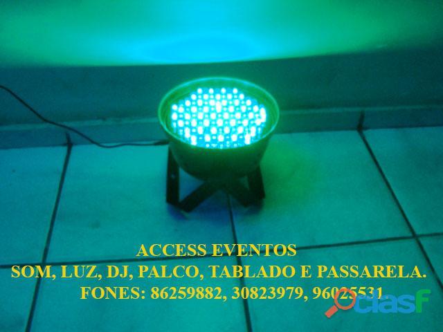 Som, Luz, dj, Palco, Tablado,Tenda, Passarela, Som Pra Banda, tablado de vidro. Ligue 9 8625 9882. 14