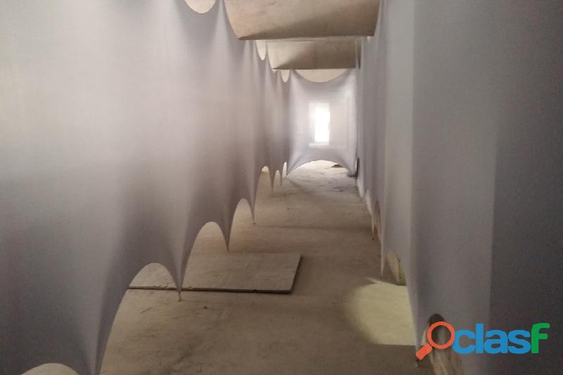 Isolamento com tecidos para obras 2