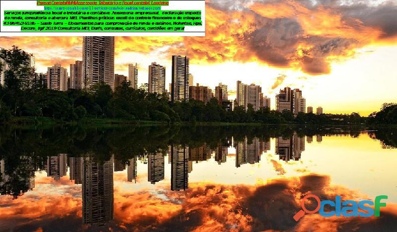 Emissão PIS/NIS###Londrina* Serviços de contabilidade e assessoria MEI