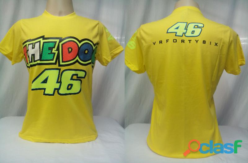 AY Camisetas Moto Velocidade Valentino Rossi, VR46, The Doctor, The Donkey, BMW, Monster 2
