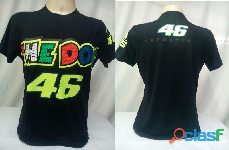 AY Camisetas Moto Velocidade Valentino Rossi, VR46, The Doctor, The Donkey, BMW, Monster 3
