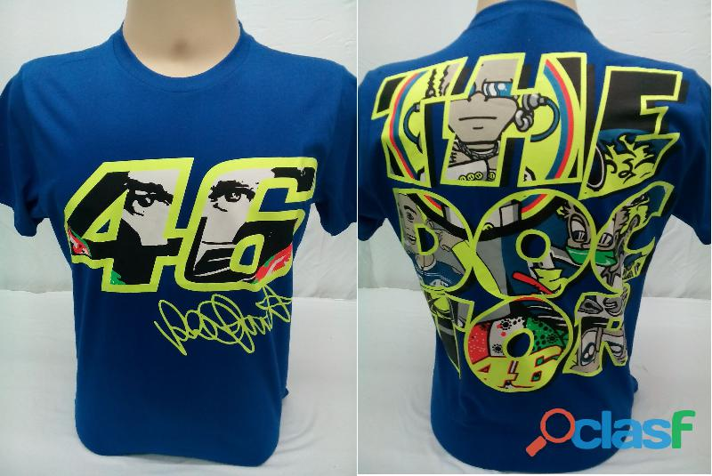 AY Camisetas Moto Velocidade Valentino Rossi, VR46, The Doctor, The Donkey, BMW, Monster 4