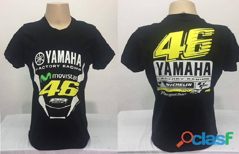 AY Camisetas Moto Velocidade Valentino Rossi, VR46, The Doctor, The Donkey, BMW, Monster 6