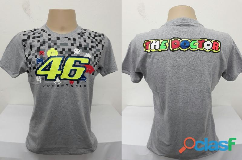 AY Camisetas Moto Velocidade Valentino Rossi, VR46, The Doctor, The Donkey, BMW, Monster 13