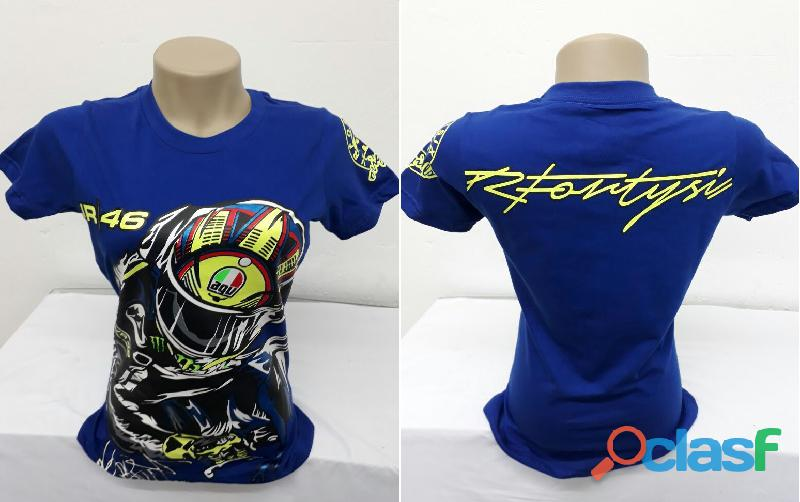 AY Camisetas Moto Velocidade Valentino Rossi, VR46, The Doctor, The Donkey, BMW, Monster 15