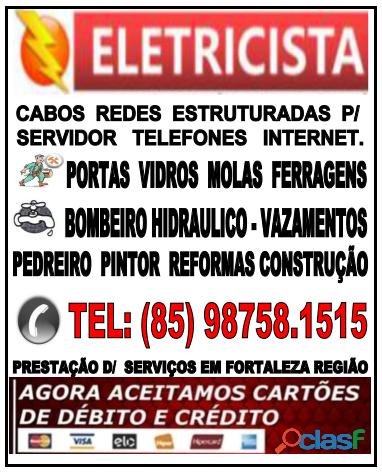 Eletricista 24hs (85) 98758.1515