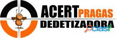Dedetizadora no aquiraz acertpragas (85)3487 2101/98976 1385