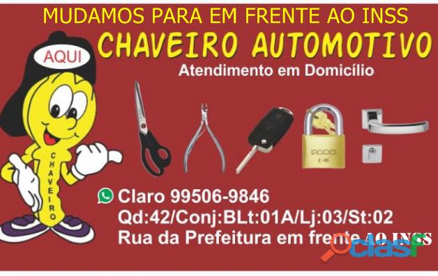 Chaveiro Valdeildo Águas lindas