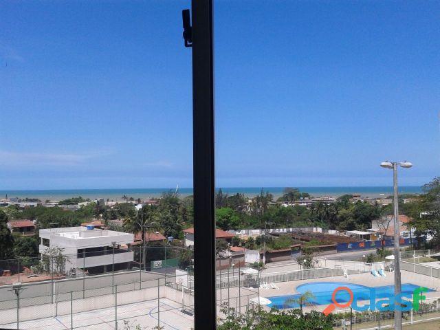 APARTAMENTO NOVO 2 QUARTOS EM JACARAIPE, vista para o mar