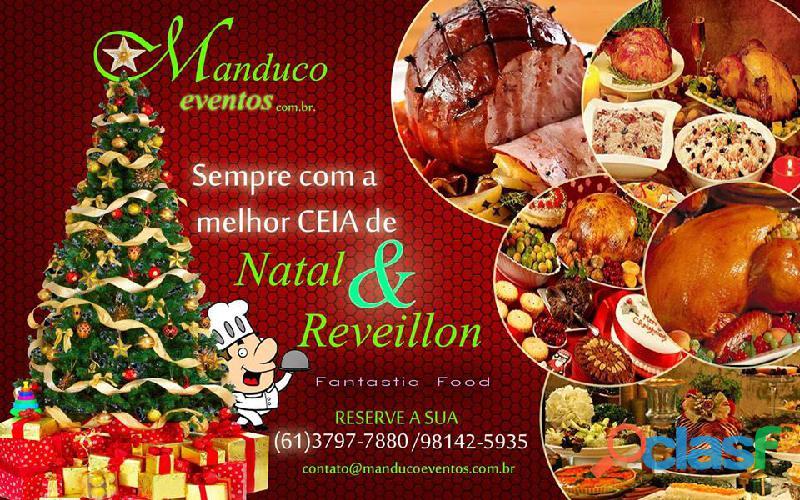 Buffet delivery para a noite de em Brasília/DF