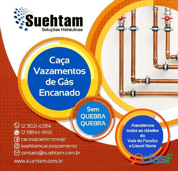 Detecção de vazamento de gás
