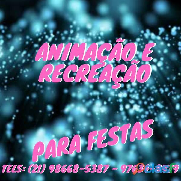 Recreação infantil, Tel 3181 4561 / 98668 5387