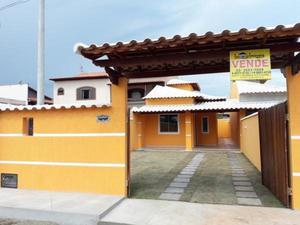 Casa nova 400m praia centro de jaconé saquarema financiada