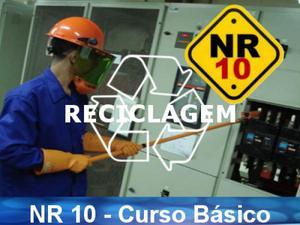 Curso de nr 10 - reciclagem (8h/aula) - promoção