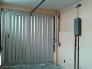 Portões de alumínio e vidros