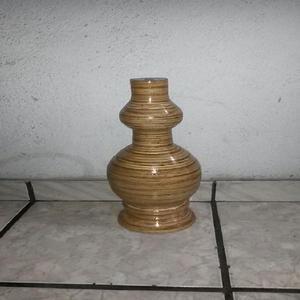 Vasos em madeira torneada - rio de janeiro