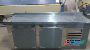 Balcao refrigerado em aço inox 1.40x60x90