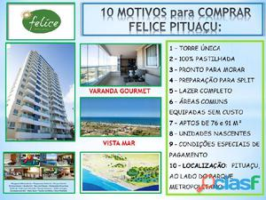 Apartamento felice pituaçu