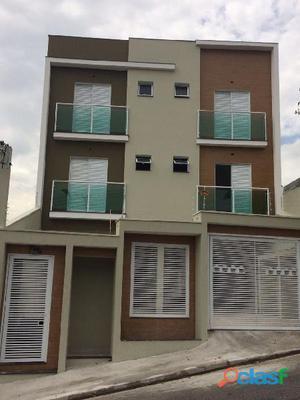 Apartamento sem condomínio 2 dormitórios 53 m² em santo andré   parque das nações.