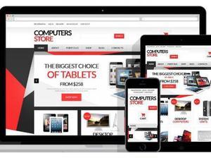 Monte sua loja de informática on line disponivel para compr