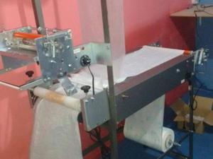 Maquina de fralda descartavel motorizada da centralmaq usada