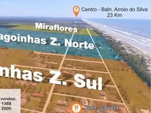 terrenos, na praia em até 48 x