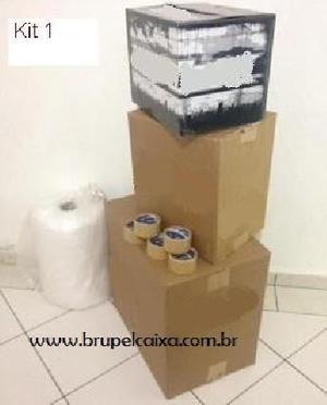 Caixas de papelão usadas e semi-nova