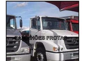Mb atron 2324 truck, com baú, carroceria em geral