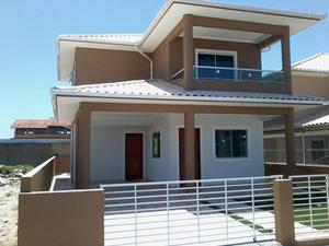 Linda casa duplex nova - 3 quartos - ingleses - floripa/sc