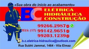 Bc eletrica hidraulica e construçao