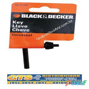 Chave de mandril universal black & deck
