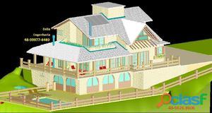 Projeto arquitetônico cálculo estrutural hidro sanitário elétrico cat bim pericia obra