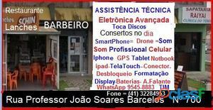 Assistencia Tecnica Celular Araucariar Sony SmartPhone.Andróid iOS WindowsPhone Curitiba