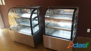 vitrine em aço inox quente e gelada promoçao