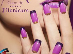 Curso de manicure completo com decoração e unhas postiças