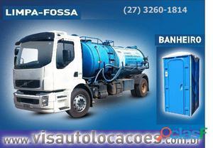 Locação de caminhão sugador de fossa e caixa de gordura – visauto   es 27 3229 1271