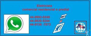 Eletricista, solução em instalações e manutenção